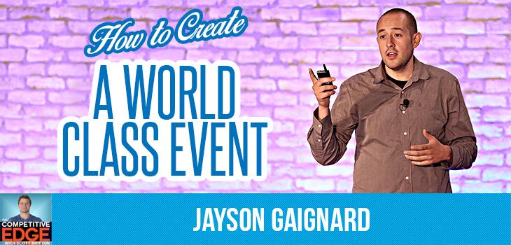 Jayson Gaignard interview